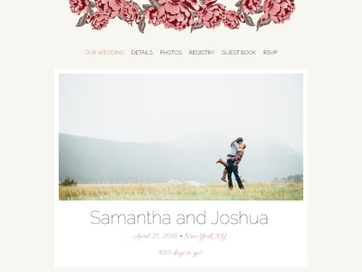 how to choose a wedding website