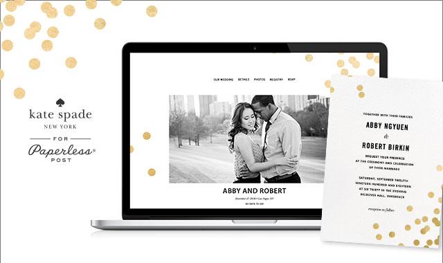 exclusive designer wedding websites