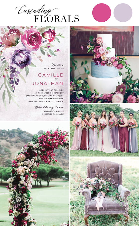 Cascading Floral Wedding Inspiration