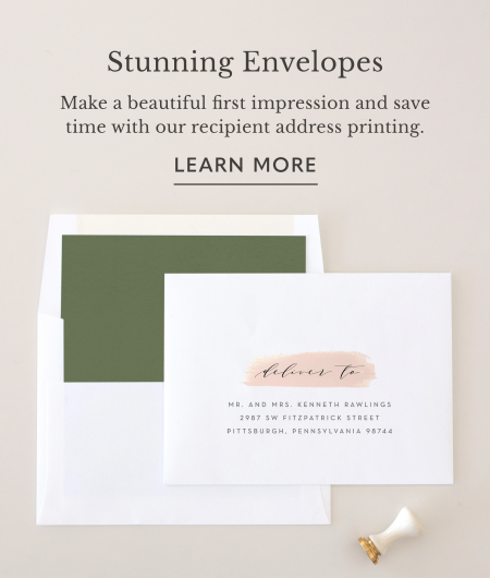 Stunning Envelopes