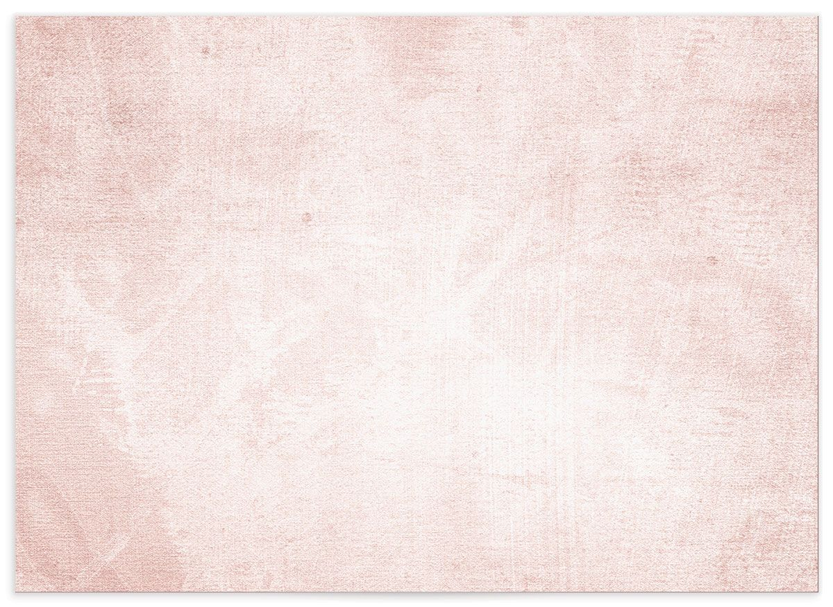 muted floral wedding rsvp cards in blush pink back