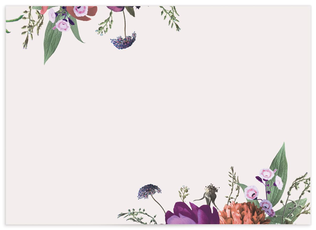 Blooming Botanical RSVP back