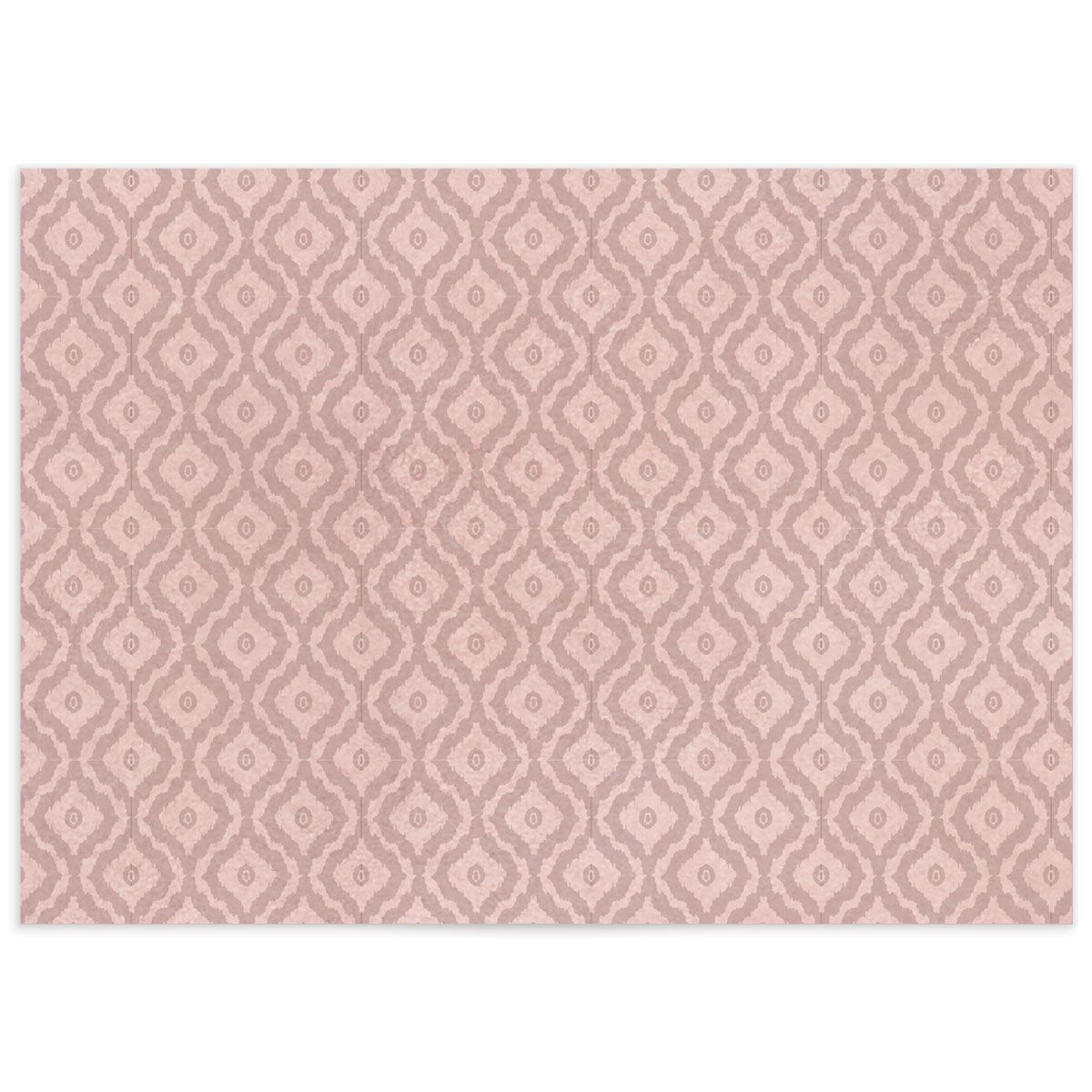 painted desert wedding enclosure cards in pink back