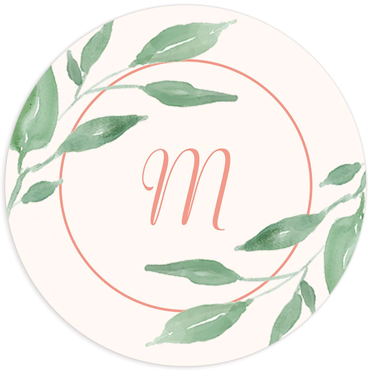 Romantic Floral Wedding Stickers