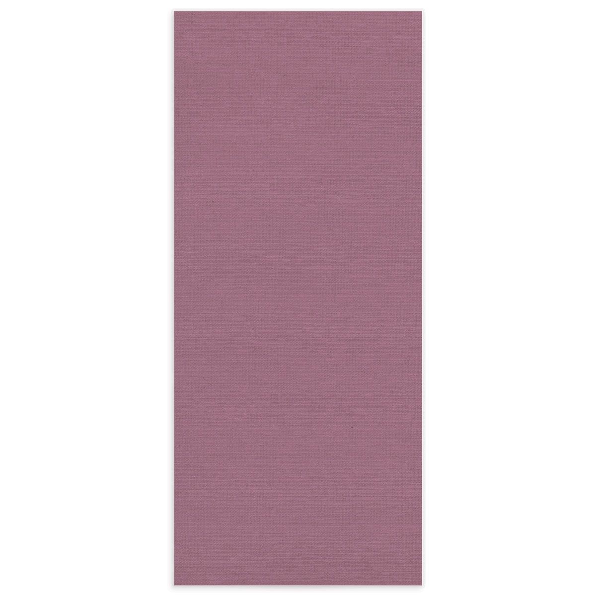 Beloved Floral Ceremony Menus in purple back