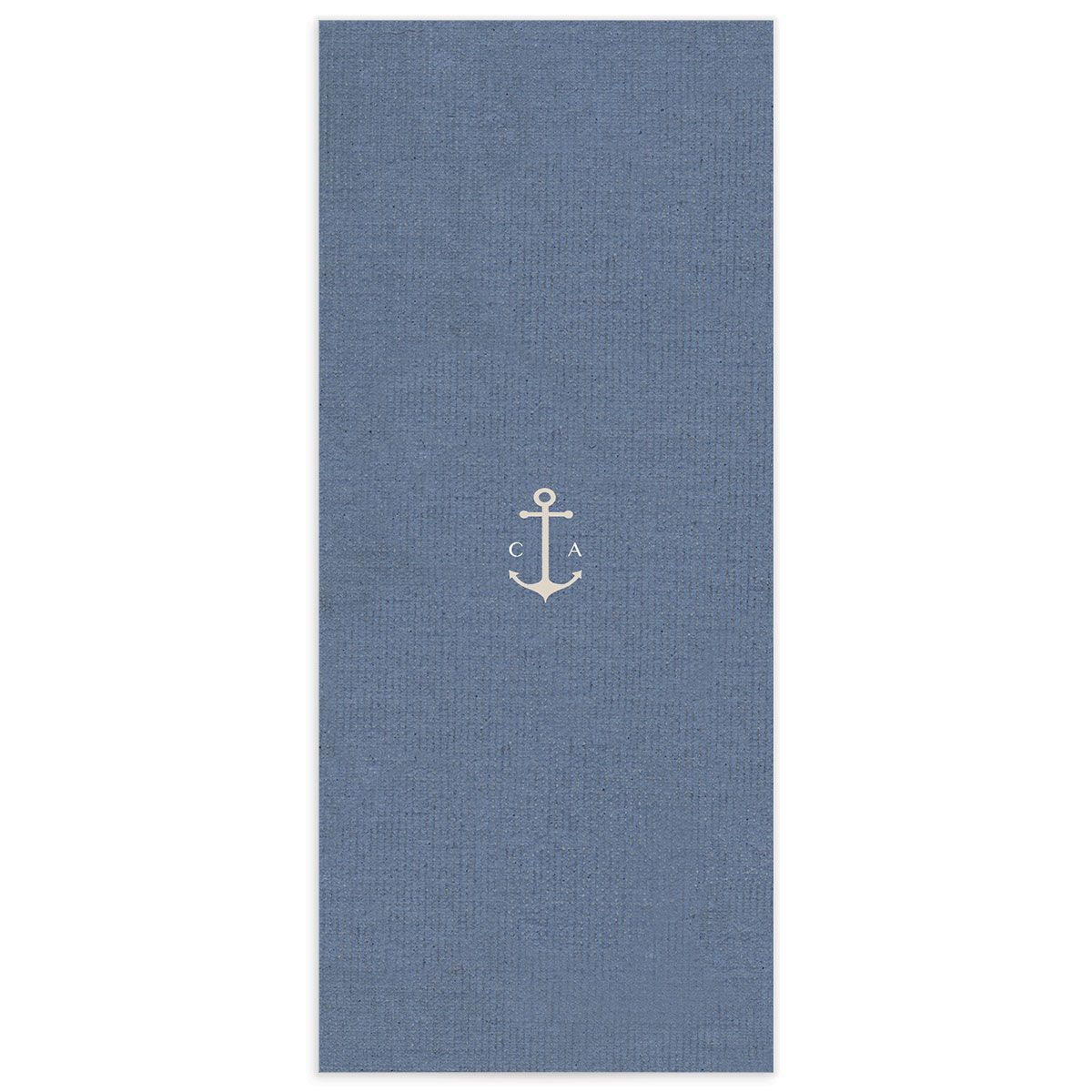 Coastal Love menus back in blue