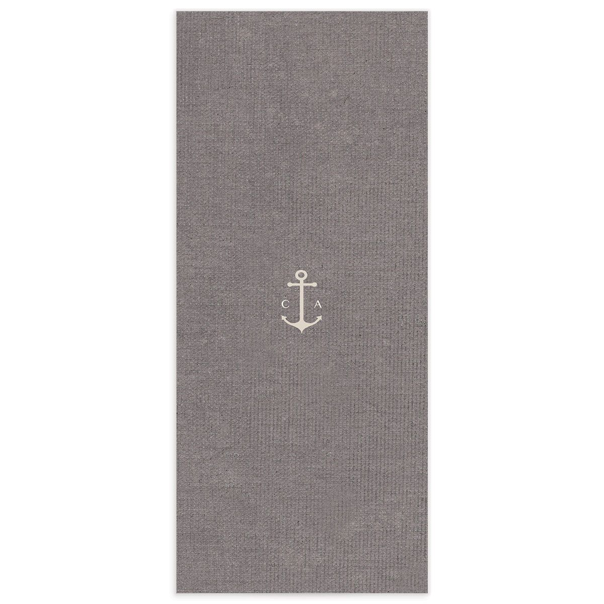 Coastal Love menus back in grey