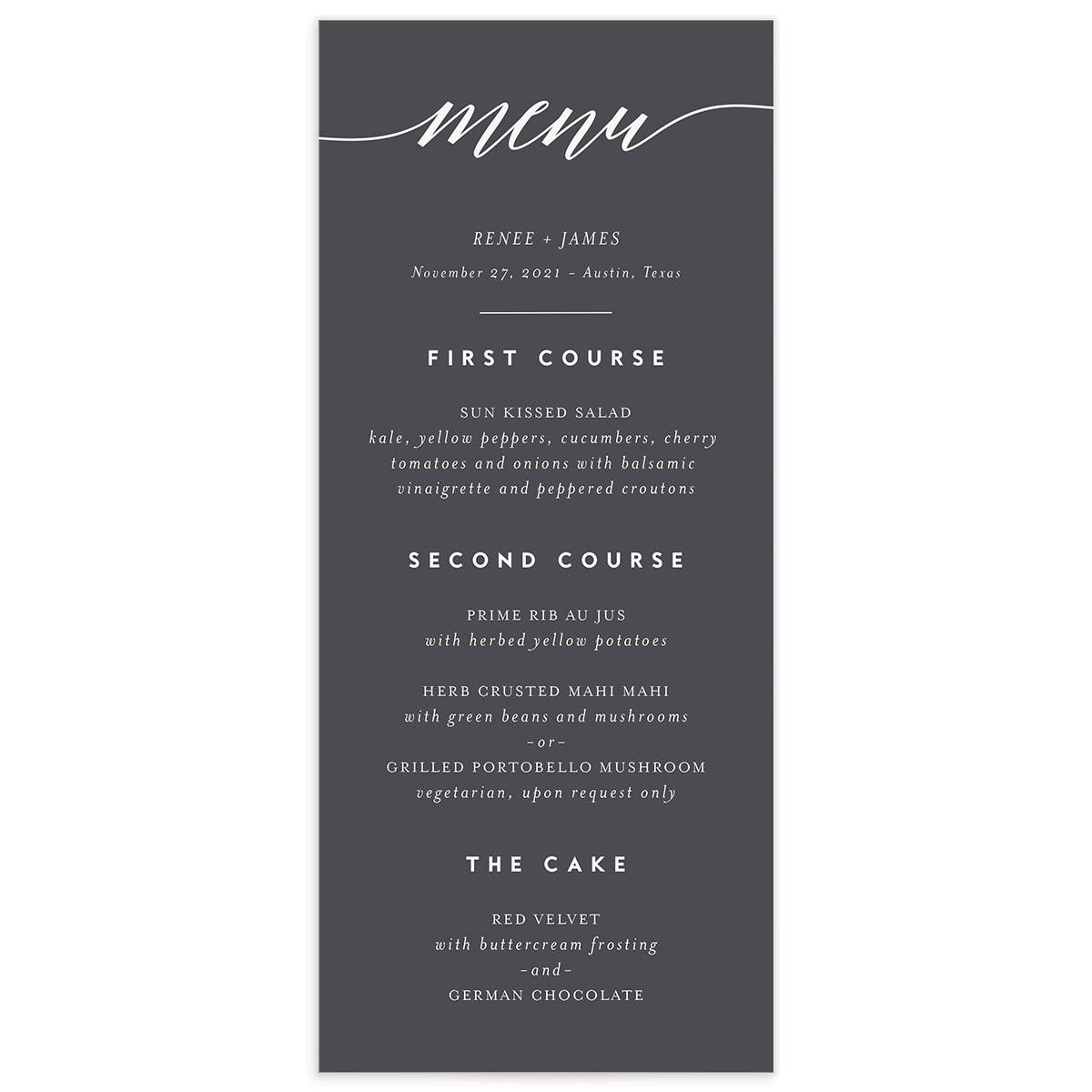 We Do Menus front in grey