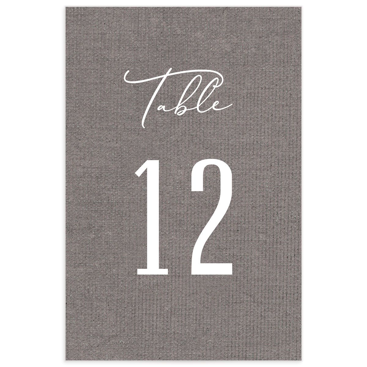 Coastal Love table numbers in grey back