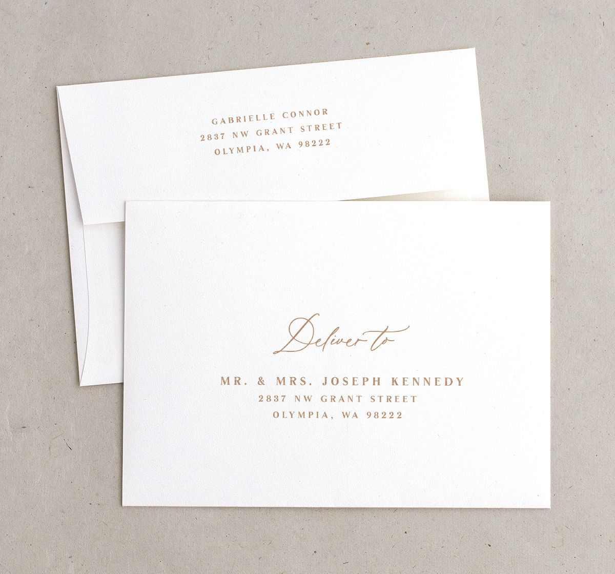 Rustic Vines envelopes