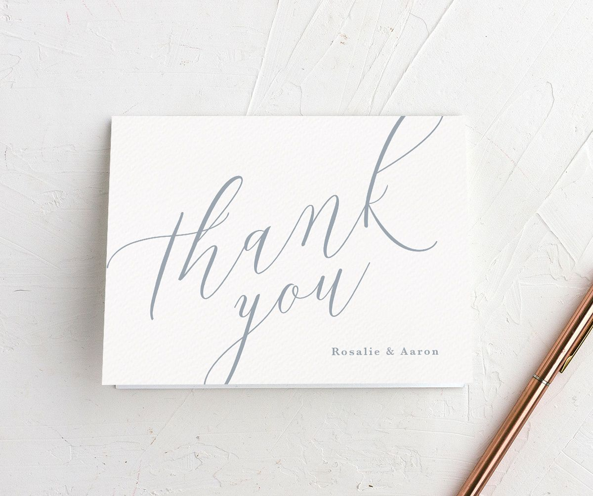 At Last Thank You Cards
