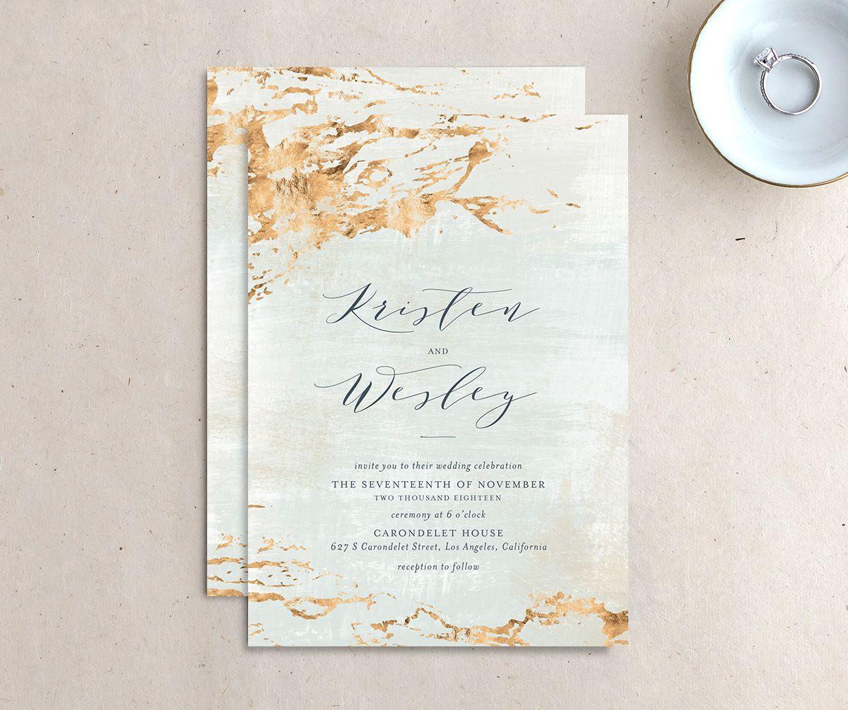 Earthy Organic Wedding Invitations | elli