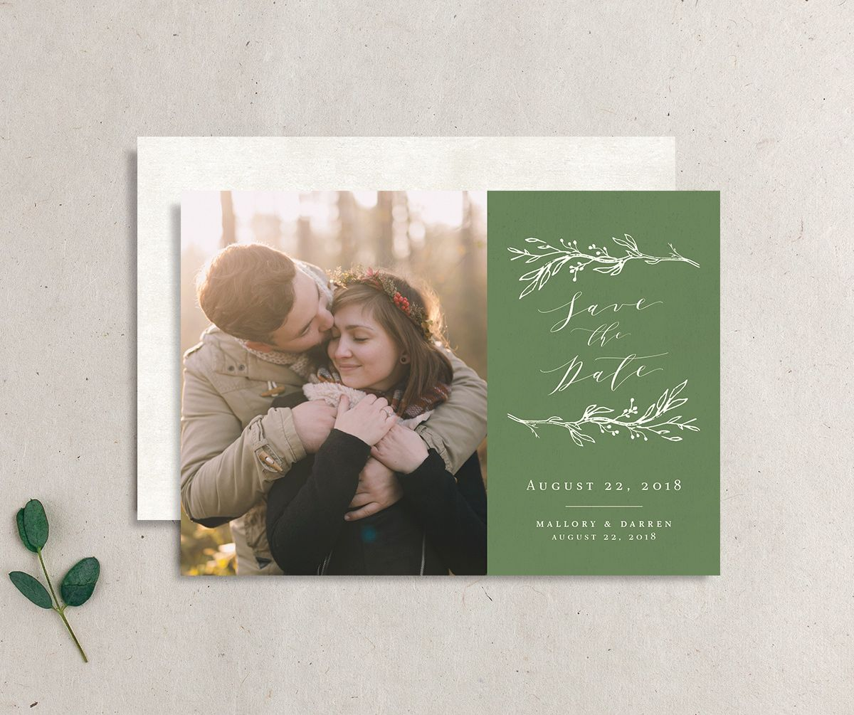 rustic elegance save the dates