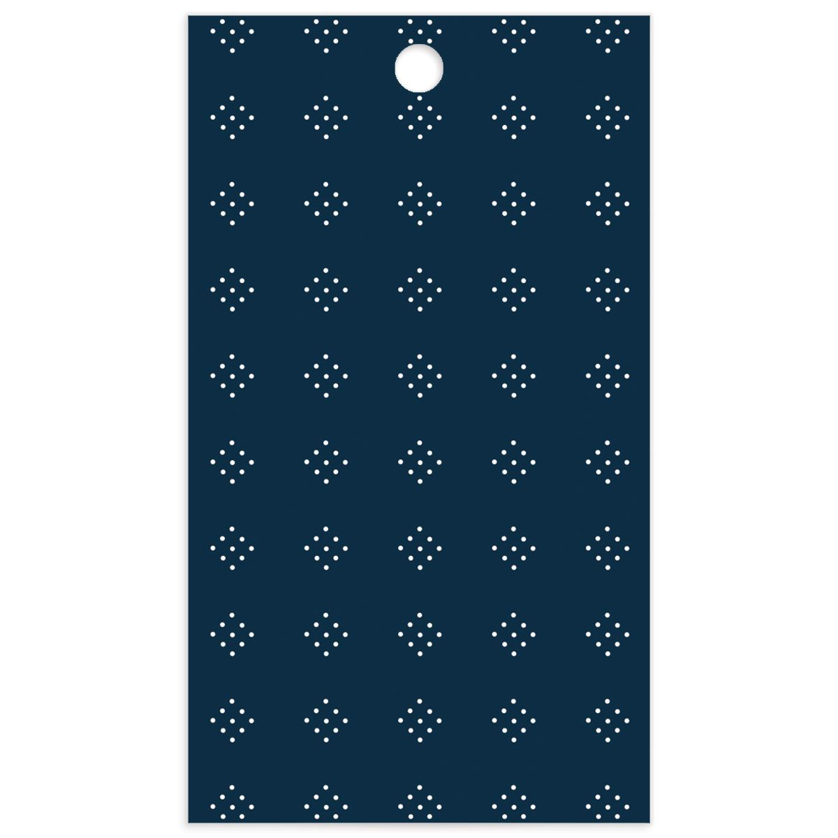 Formal Ampersand Wedding Gift Tag back in navy