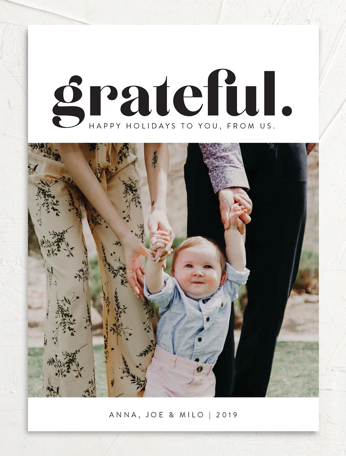 grateful holiday cards
