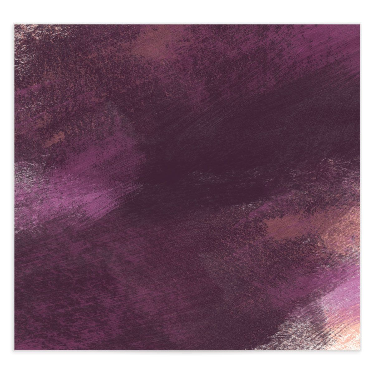 Modern Brushstroke envelope liner purple