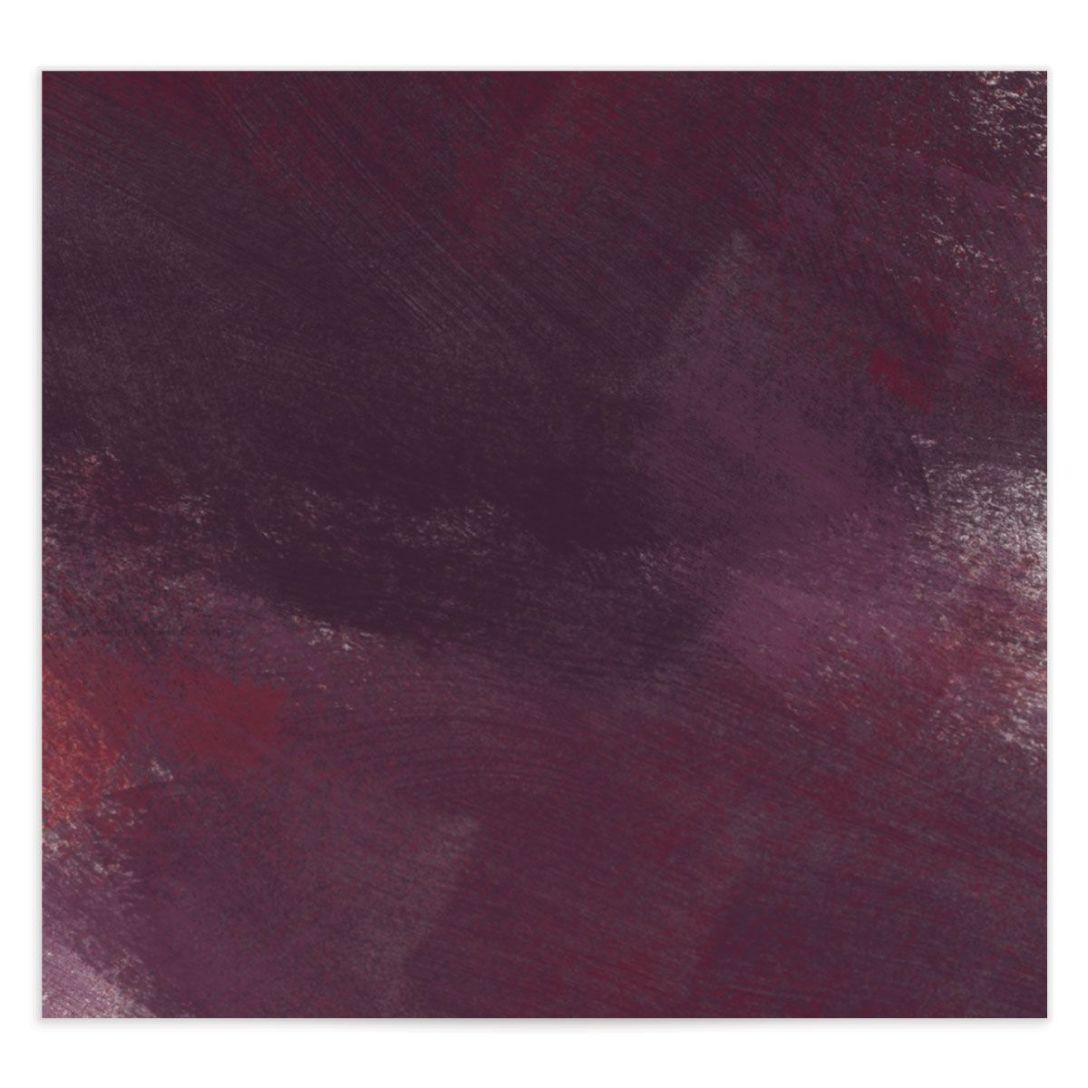Modern Brushstroke envelope liner red