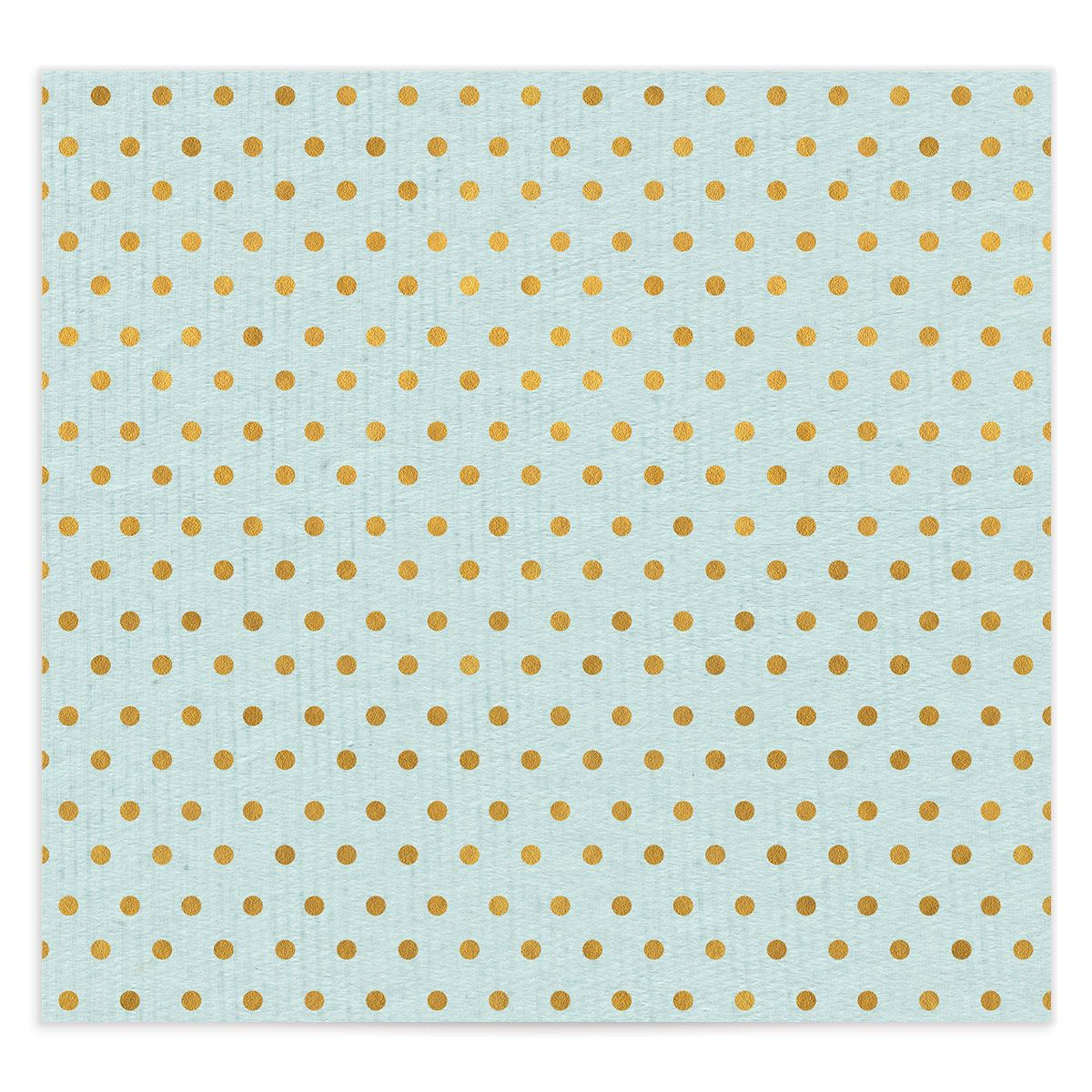 Painterly Blooms envelope liner blue