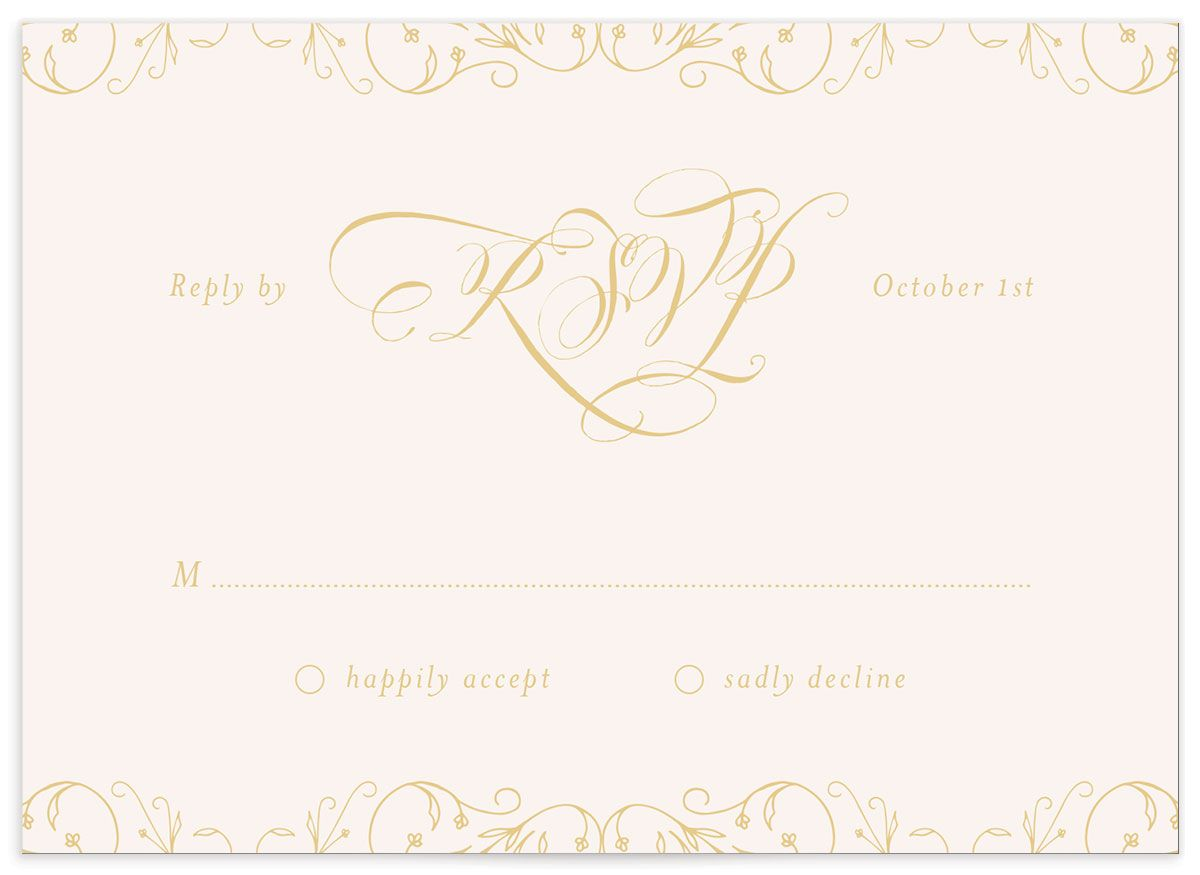 vintage luxe wedding rsvp cards in burgundy