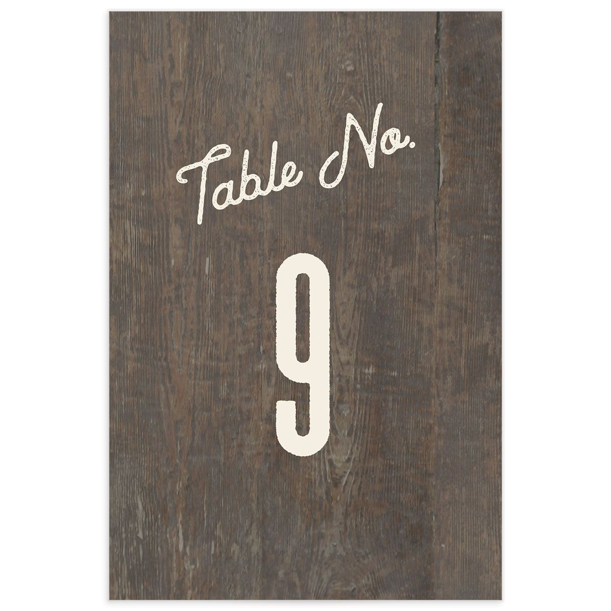 Custom State table number front