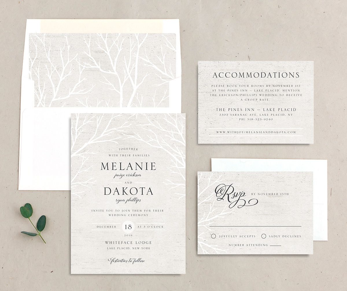 Rustic Birch suite