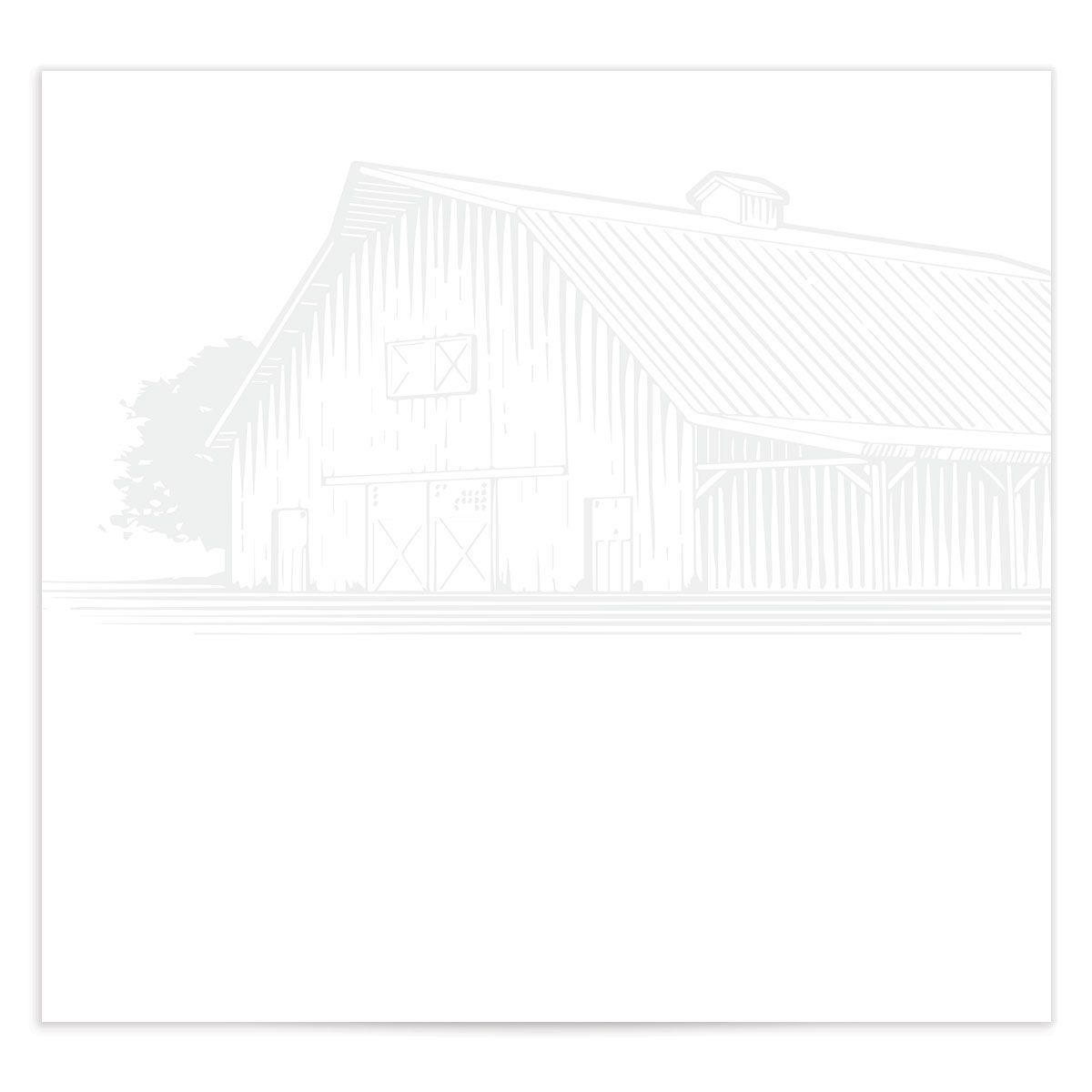 Classic Landscape DIY envelope liner in Barn