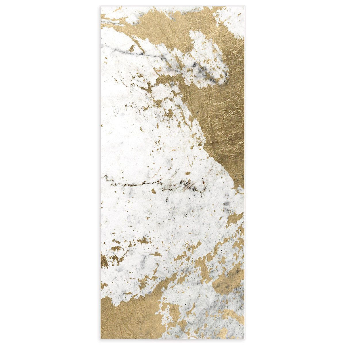 Marble and Gold Menu card back