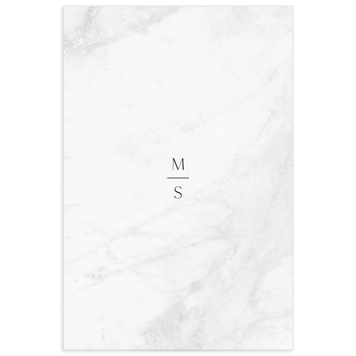 Geometric Marble table number back