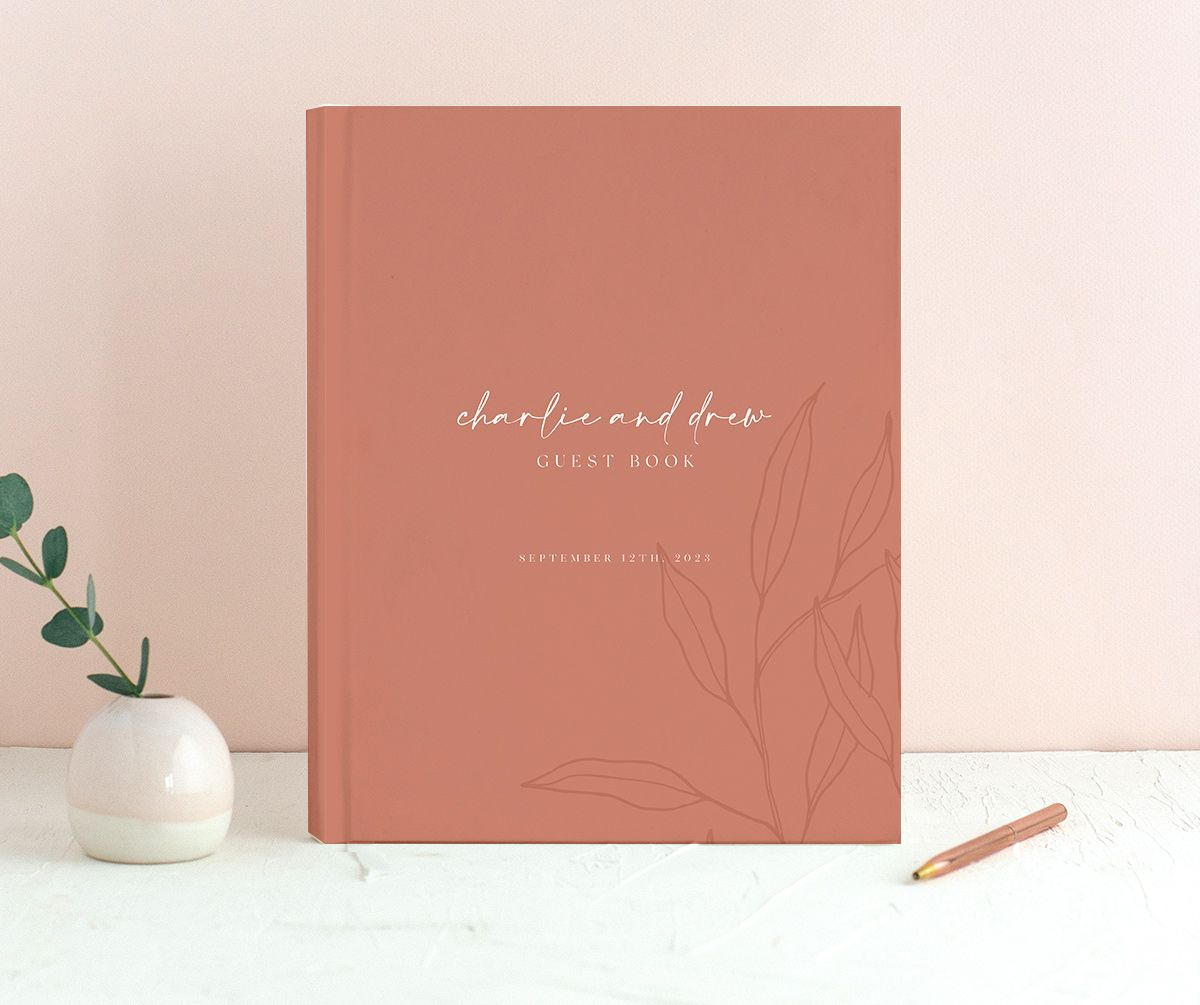 Romantic Bohemian guest book