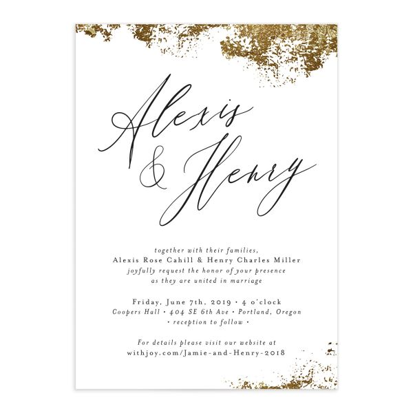 elegant organic wedding invitations