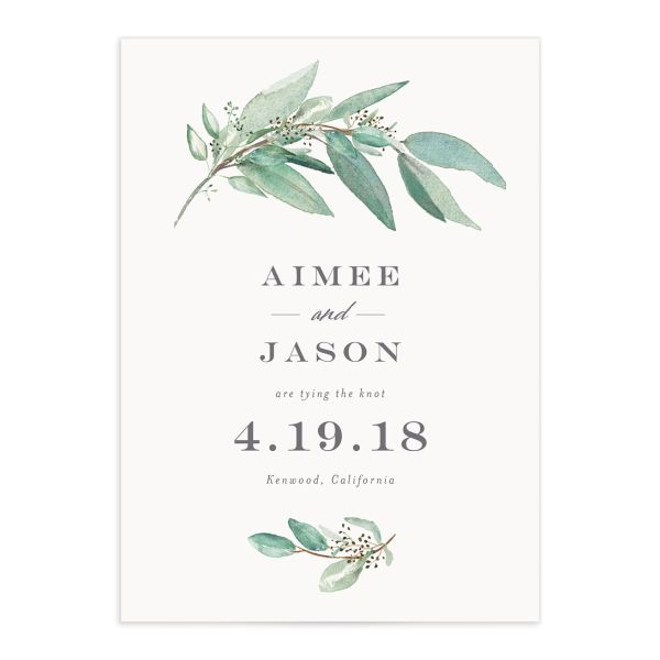 Lush Green save the date