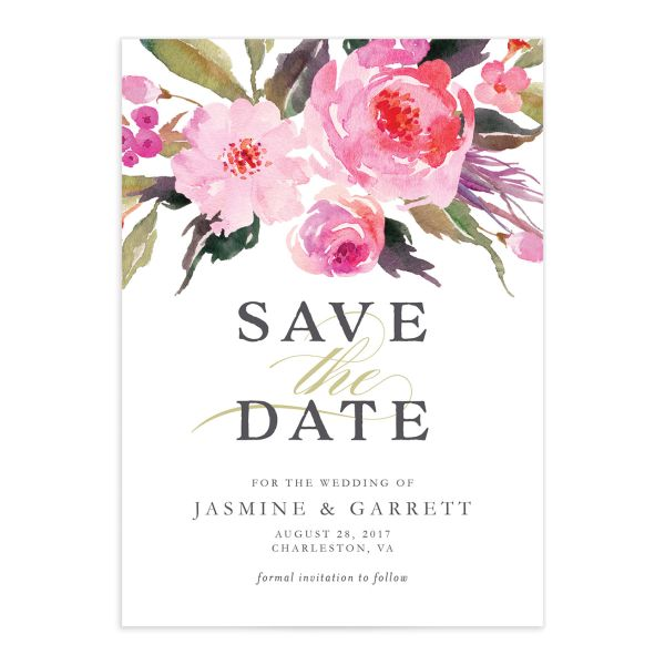 Bright Botanical save the date