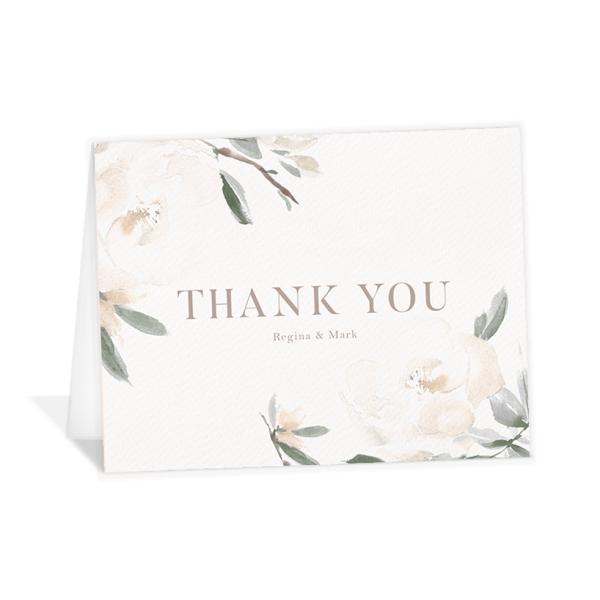 Elegant Garden Thank You Cards