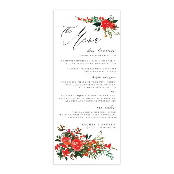 Cascading Altar menus in bright red