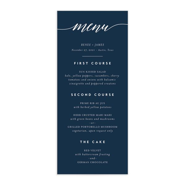 We Do Menus front in navy
