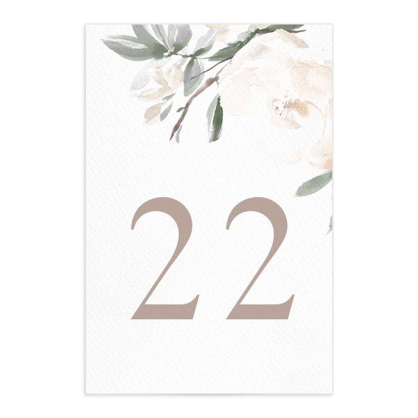Elegant Garden Table Numbers