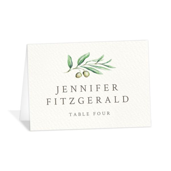 Painted Winery place card