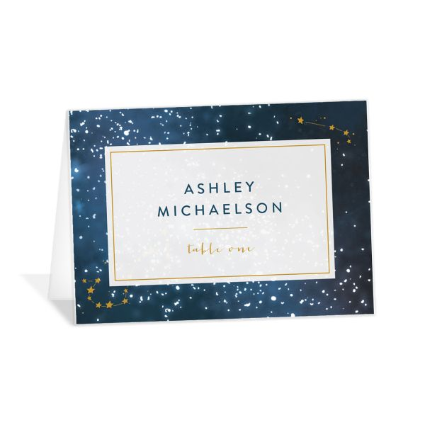starry night place cards