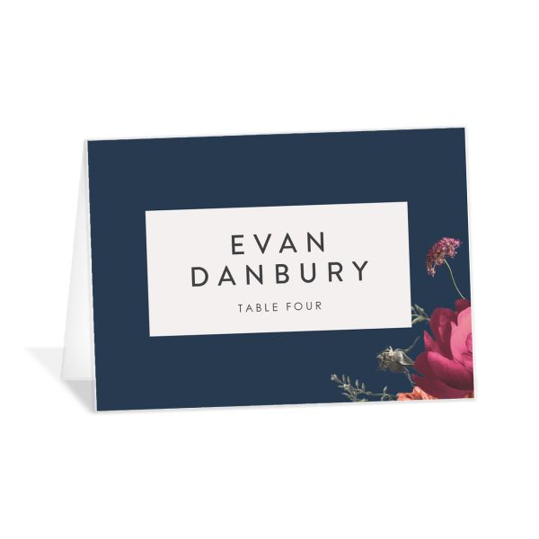 Blooming Botanical Place Cards