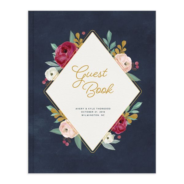 Painterly Blooms guest book