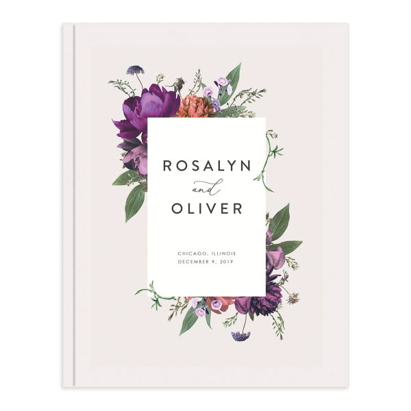 Blooming Botanical Guest Book