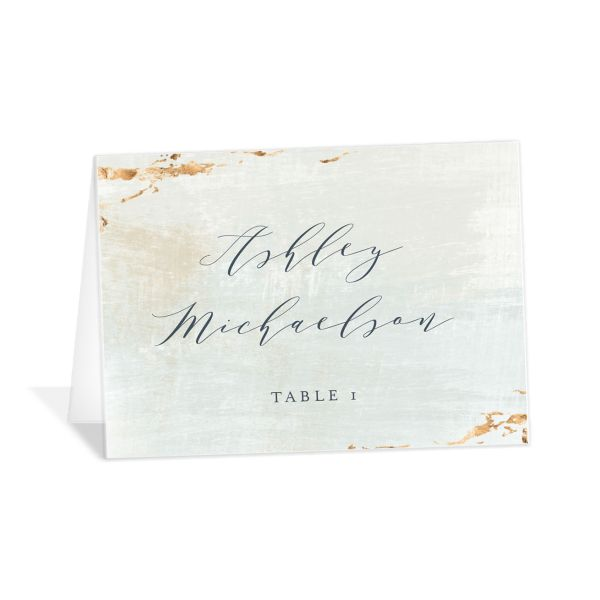 earthy organic wedding place cards