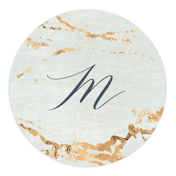 Earthy Organic Wedding Stickers