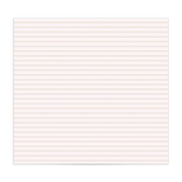 Classic Greenery envelope liner pink