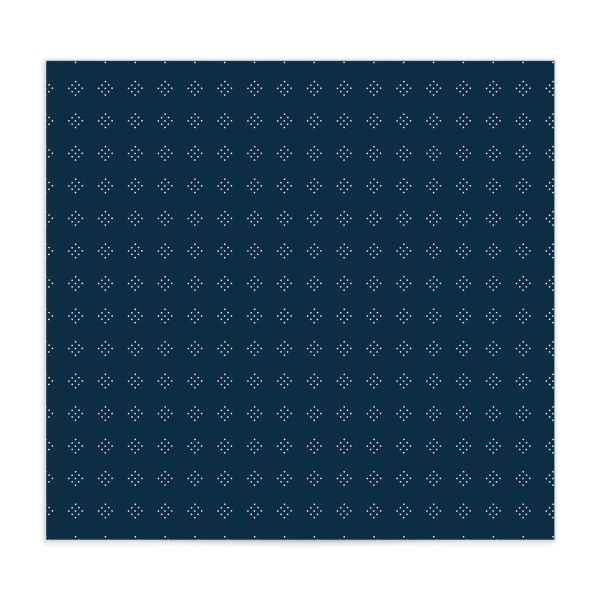 Formal Ampersand envelope liner blue