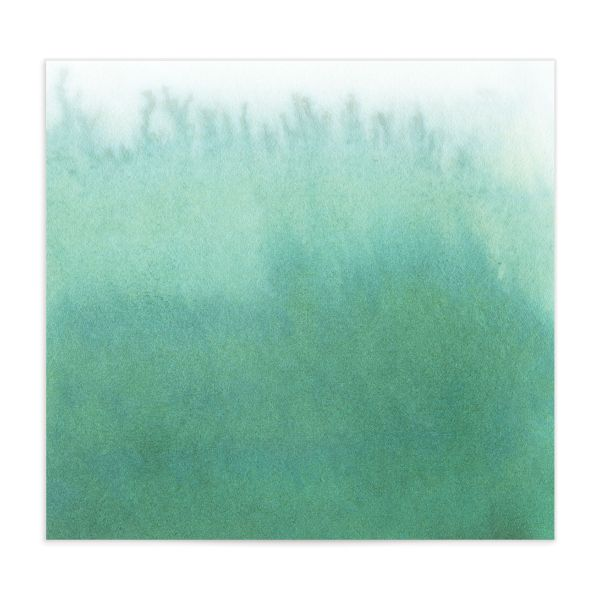Painted Ethereal Envelope Liner green