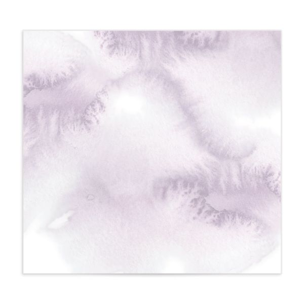 Leafy Frame Envelope liner purple