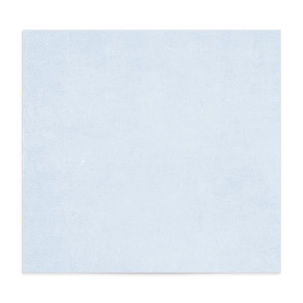 Watercolor Crest envelope liner blue