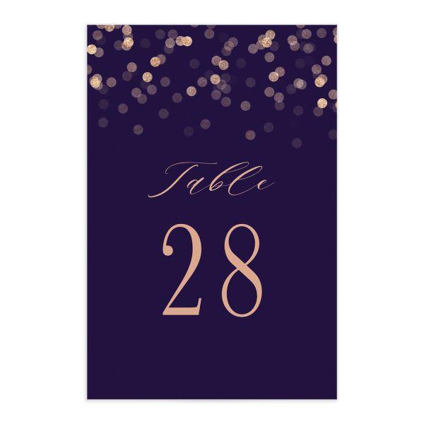 Elegant Glow Table Numbers