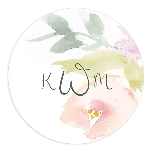 Romantic Watercolor sticker